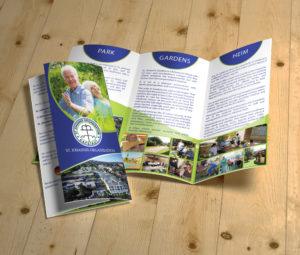 Three-fold brochure